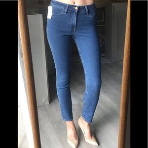 Jeans women H&M skinny ankle 26